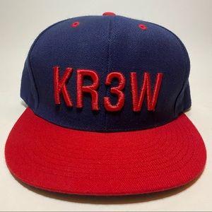 KR3W Snapback Hat Cap